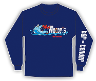 Wet Woody's Long Sleeve T